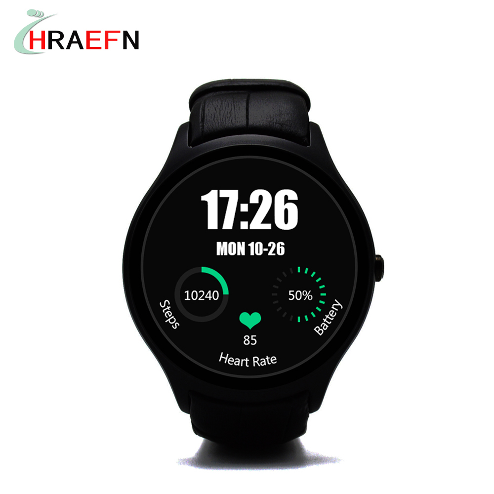 Hraefn D5+ Android 5.1 3G Smartwatch wrist watch hombre cell phone 1GB RAM 8GB ROM Heart Rate Monitor bluetooth Smart Watches(China (Mainland))