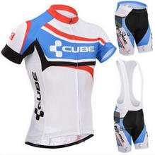 100% Polyester Summer Short Sleeve Bicycle Cube Cycling Jersey Bike Cycling Clothing Bicycle Clothes Sportswear Ropa