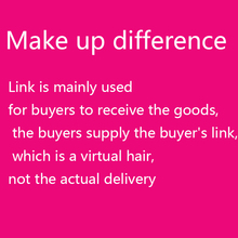 Link is mainly used for buyers to receive the goods, the buyers supply the buyer's link, which is a virtual hair, not the actual