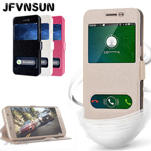 Case for Samsung Galaxy J1 2016 J120 Case for Samsung J1 ace mini J100 Fashion Window View Leather Magnetic Flip Cover Phone Bag