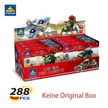 Kazi bloques bloques de construcción bloques de construcción de juguete educación alerta roja para niños juguetes de inteligencia juguete de lujo