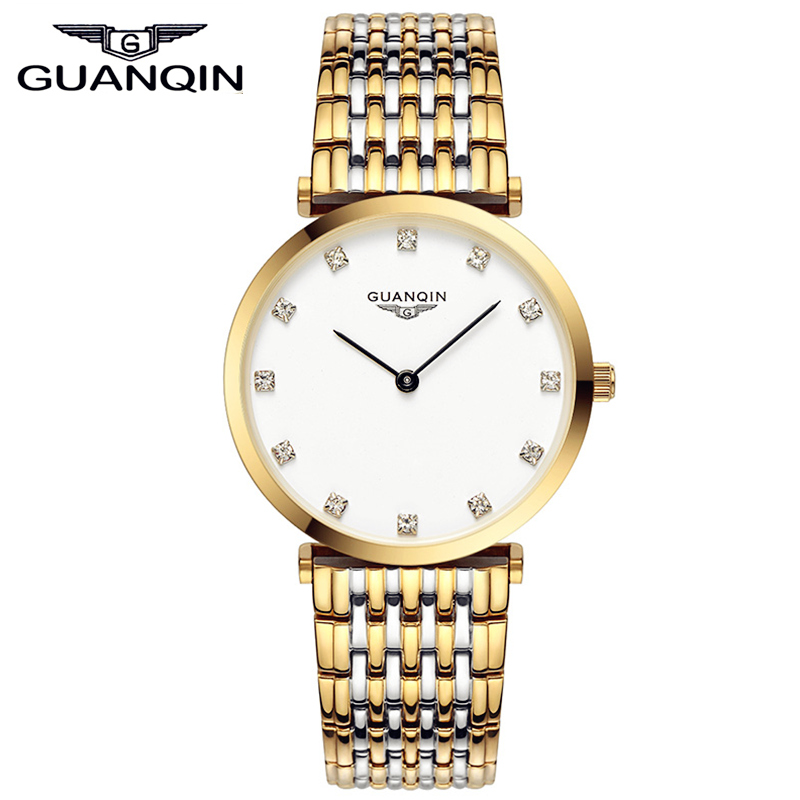 Reloj Quartz Watch GUANQIN Fashion Women Watch Casual Watches Luxury Brand Clock Full Steel Women Wristwatches Relogio Feminino<br><br>Aliexpress