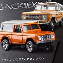 Brand New Baby Car Toys 1:32 Scale High simulation alloy model car Orange JADA Ford 1973 BRONCO quality toy models Free shipping