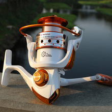 DSstyles Fishing reel BX1000 - 9000 Series 12+1BB Stainless steel Aluminum Spool Superior Ratio 5.5:1 Fishing Reel Spinning Reel(China)