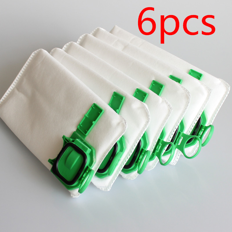6pcs dust filter bag replacement for VK140 VK150 Vorwerk garbage bags FP140 Bo rate kobold Vacuum cleaner(China (Mainland))