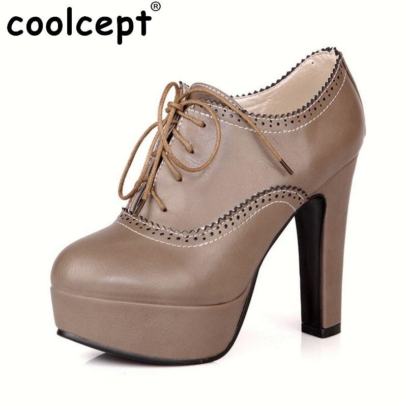 women stiletto high heel shoes sexy lady platform spring fashion heeled pumps heels shoes plus big size 34-47 P16740<br>