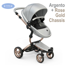 i-baby Luxury Xari Baby Stroller High Landscape Portable Lightweight Foldable Baby Pram Pushchairs Kinderwagen(China)