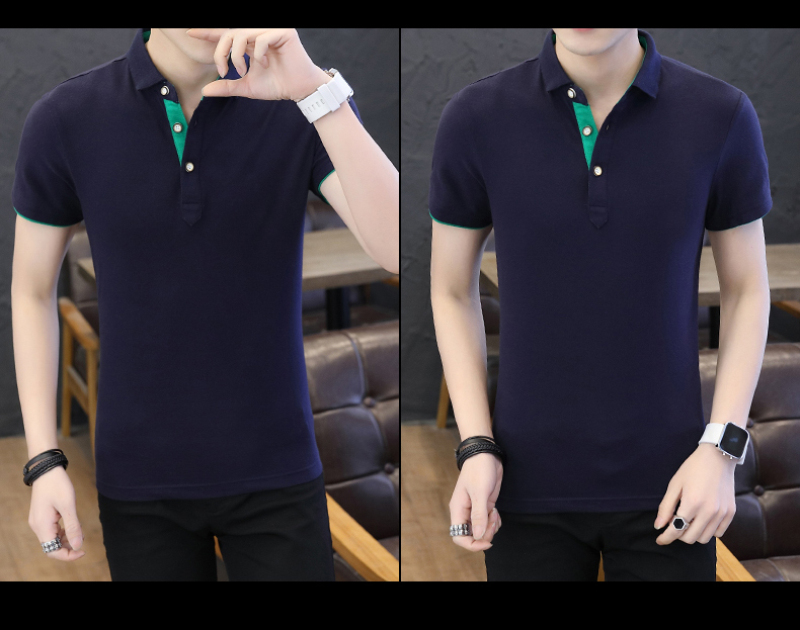SD Polo Shirts Men 2018 New Arrivals Casual Male Polo Shirts Breathable Cotton Tops High Quality Solid camisa Polos Homme 413 22