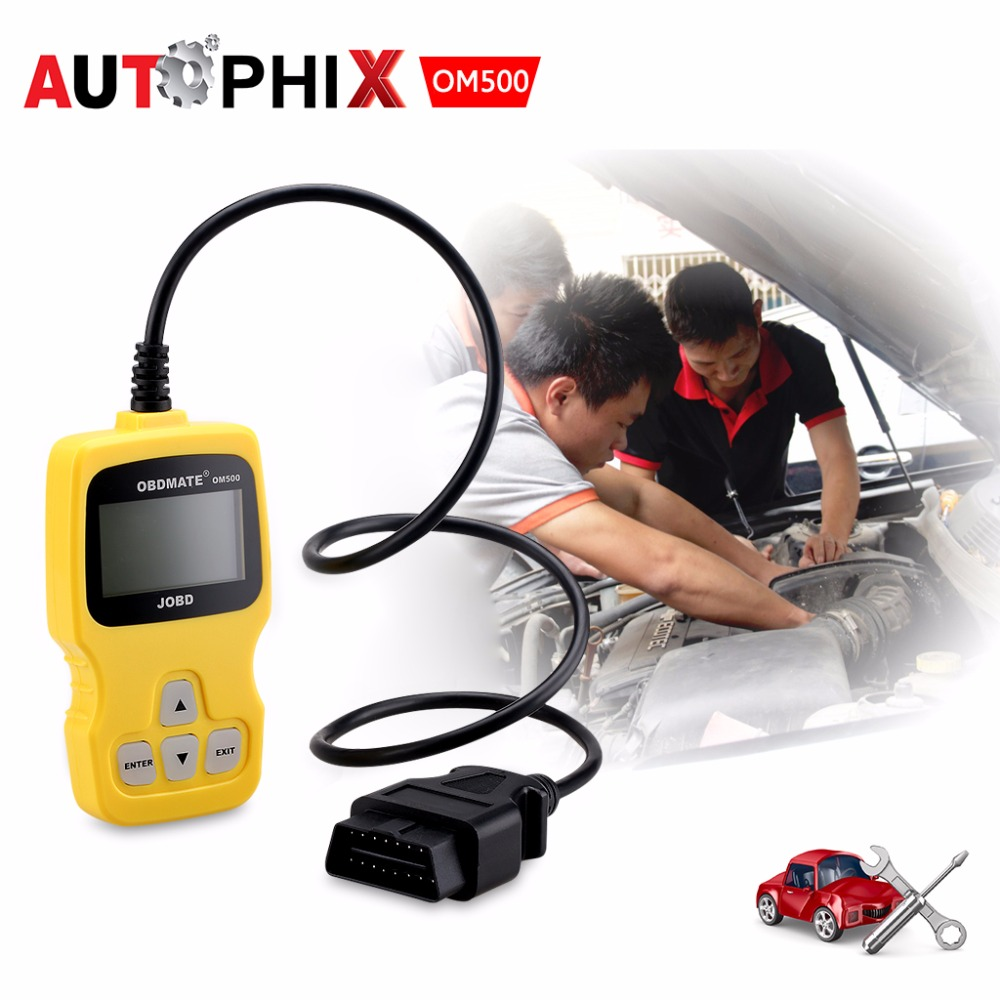 AUTOPHIX OBDMATE OM500 OBD2 JOBD EOBD CAN Car Fault Code Reader Scanner Diagnostic Scan Tool for HONDA TOYOTA Etc(China (Mainland))