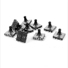 10 PCS 10x10x9mm 6-Terminal 5 Way Momentary Pushbutton PCB SMD SMT Tactile Switch(China)