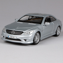 Maisto 1:24 MB CL63 AMG Sports Car Diecast Model Car Toy New In Box Free Shipping 31297