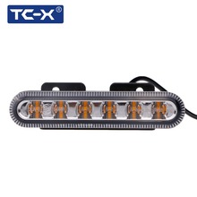 TC-X 6 LED Car Police Strobe Blasting Flashlight Modes Auto Warning Light High Power Caution Lamp Ambulance Public Security Boat(China)