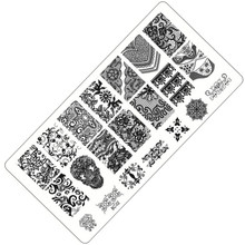 1pc 10 Designs Available Lace Starfish & Shell Negative Space Leaves Flowers Animals Nail Template