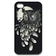 Retro Style Owl Back Shell Case Cover Skin Cell Phone for Iphone4/4s/5/5s/5c/6/6s/6plus/6s plus- wholesale and retail
