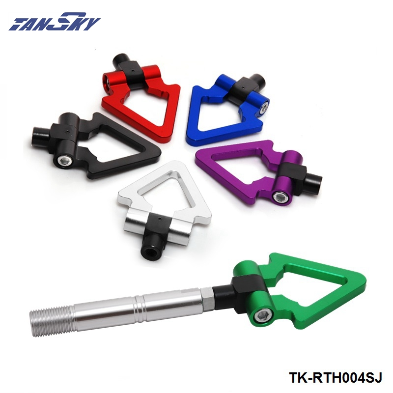 TANSKY - Racing Billet Aluminum Triangle Ring Tow Hook Front Rear For Toyota AVANZA Japanese Car Trailer TK-RTH004SJ