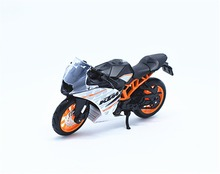 1:18 Maisto KTM RC390 Black Motorcycle Bike Model New in Box