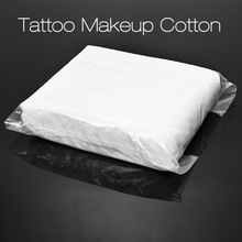 New Tattoo Makeup Cotton Facial 500 pcs Cleansing Tissue Makeup Remover Tattoo Beauty Wipe Clean Paper Disposable Supplies 2017