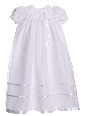 BABY WOW Long Baby Clothes Girls Christening Gowns  Dresses + Hat  Girls Clothes 1 Year Birthday Dress White Simple Style  90149<br><br>Aliexpress
