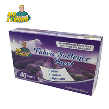 4Box/Lot 2017 Fabric Softener Sheet Soften Clothese Lavender Scent Tumble Dryer Sheets Controlling Static Cling In Fabrics
