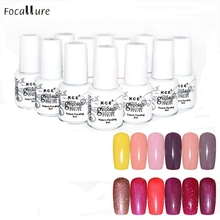 Hot Popular Nail Gel Polish UV LED Shining Colorful 12 Colors 5ML Oct 21