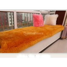 Buy 60x120cm Artificial Wool Furry Floor Rug Super Soft Warm Bedside Carpet Deluxe Bed Runner for $25.34 in AliExpress store