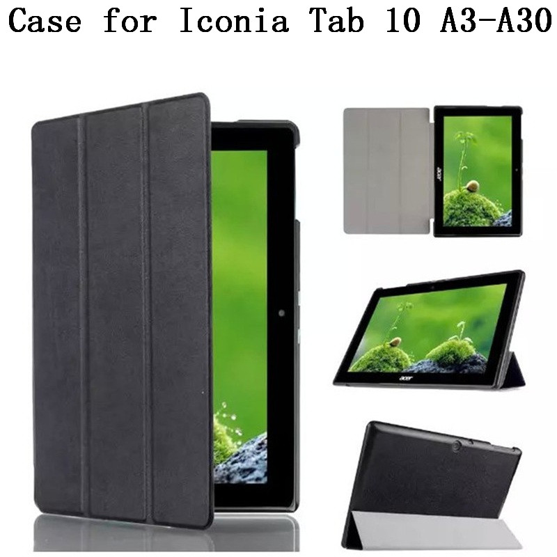 Original quality Case Cover For Acer Iconia Tab 10 A3-A30 tablet Case With Stand Flip for Iconia Tab 10 10.1 Case,SKU 013FK65<br><br>Aliexpress