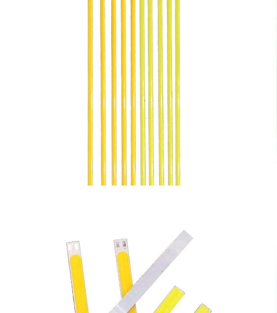 dc 12v 10w 20w 60cm 40cm 30cm 20cm cob led strip car light (2)