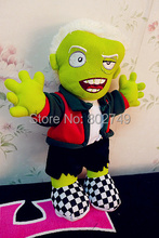 The Walking Dead Plush Toy Zombie Stuffed Doll Novelty Personalized Fashion Doll Halloween Gifts 31cm(China)