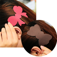 Fashion cute  Magic Paste Posts Hair Sticker Clip Magic Plastic Bangs Stickers Cartoon Design Hair Accessories #JH075