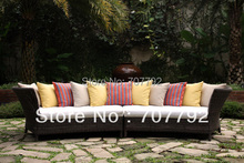New Design outdoor rattan antique sofa set designs(China)