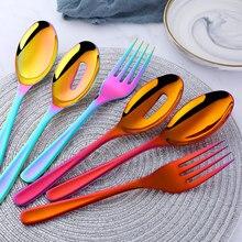 Travel Camping Healthy Wood Spork Fork Spoon Cutlery 2 in 1 Utensils Tool