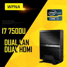 WPNA Nettop UX870 intel core i7 5500U 7500U HD Graphics 5500/620 16GB 512GB SSD WIFI mini pc windows Computer office