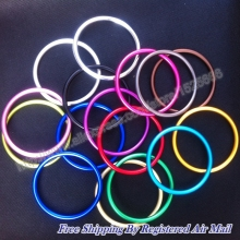 "3"" 10pcs/5pairs baby carrier top quality multiple colour aluminium ring for baby sling(China)"
