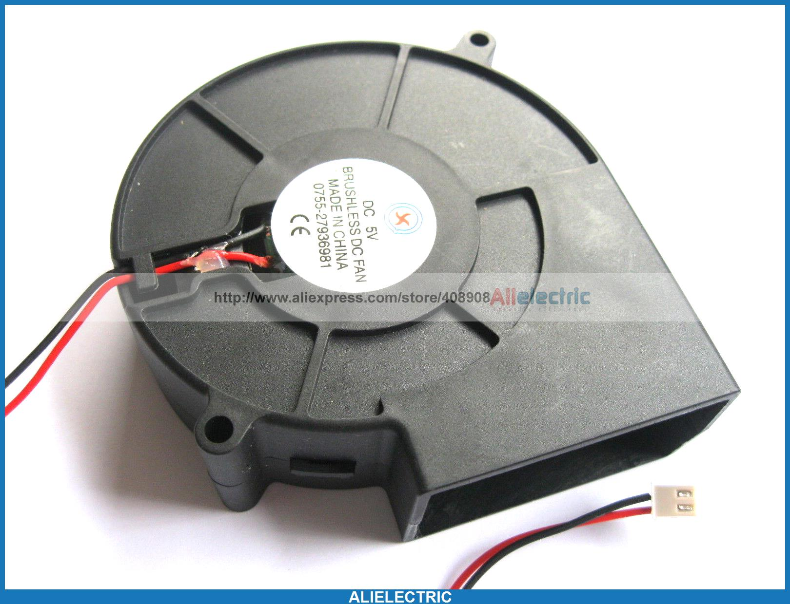 4 x Brushless DC Cooling Blower Fan 9733S 5V 9733s 2pin<br><br>Aliexpress