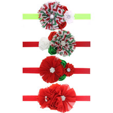 4 Different styles and Colors Child Girl Flower Headbands Children Hairband Headwear Kids Hair Band Accessories 1pc HB479