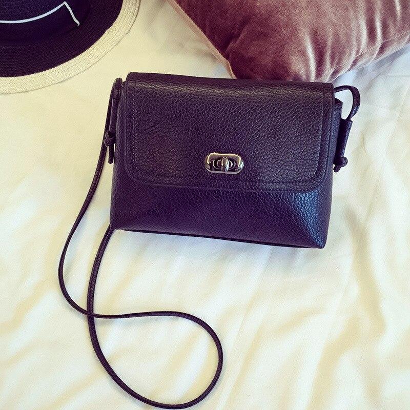 2016 fashion solid  women messenger bags pu leather handbags hasp female small flap bag designer women shoulder crossbody bags<br><br>Aliexpress