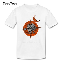 Death Space Star Boys Girls T Shirt Cotton Short Sleeve Crew Neck Tshirt children's Clothes 2017 Custom Made T-shirt For Baby