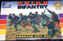 Out of print product! Italeri model 6851 1/32 UNION INFANTRY (AMERICAN CIVIL WAR) 54mm plastic model kit