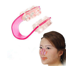 100pcs Wholesale price Women Beautiful Nose shaper Nose lift nose up clip nose massage delivery via courier(China)