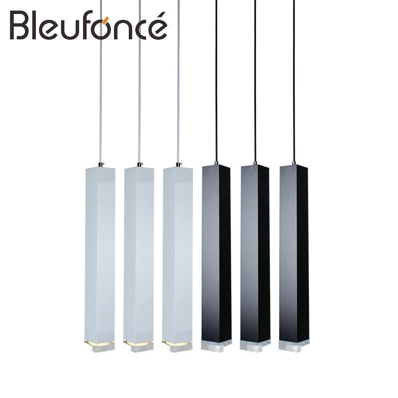 Modern Simple Creative Pendant Light Bar Hotel Pendant Decorative Light Aluminum Crystal Pendant Lights Bedroom Lamp Lighting<br>