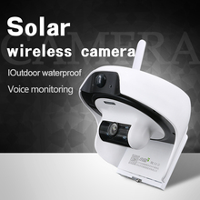 USC Solar IP Camera Outdoor HD Wireless WiFi Mini Surveillance Camera Factory Security Waterpoof Motion Detection Can Link Phone(China)