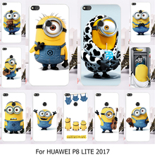 Phone Case For Huawei Honor 8 Lite Huawei P8 Lite 2017 P9 Lite 2017 Nova Lite 5.2 inch Case Hard Back Cat Cover Housing