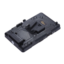 Andoer RL-IS2 V-mount V-lock DIY Power Supply Battery Plate for Sony BMCC BMPCC Camcorder Monitor LED Video Light(China)