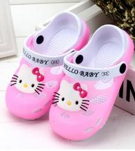 Summer hot Kid Toddlers Girl Sandals Princess Shoes Boys Hello Kitty Soft Baby Flat Sandal children Shoes Girls Beach Sandals