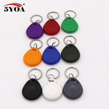 10pcs EM4305 T5577 Duplicator Copy 125khz RFID Tag Access Control Porta Chave Card Sticker Key Fob Token Ring Proximity(China)