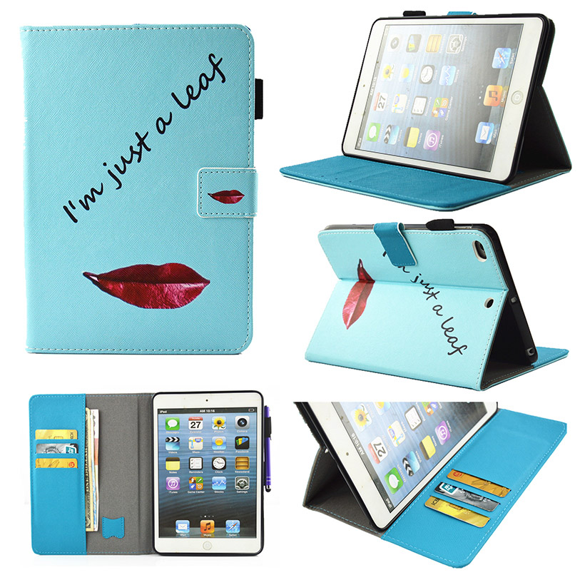 Tablet PU Leather Cases For Apple Ipad Air 1 iPad 5 iPad Air1 iPad5 9.7 Covers With Automatic Sleep Function Bag Shield Shell<br><br>Aliexpress