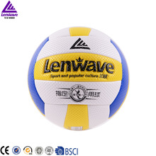 original lenwave volleyball LW--0571 NEW Brand High Quality Genuine lenwave PU Material Official Size 5 volleyball free shipping(China)