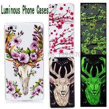 For Samsung Galaxy A3 2017 A5 2017 Case Silicone 3D Luminous Phone Cases animal printing Back Cover capa para case