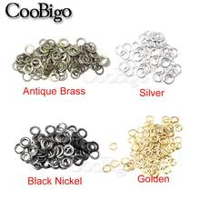 500pcs Pack 5.8mm Hole Metal Grommets for Leathercraft DIY Scrapbooking Shoes Belt Cap Bag Tags Backpack Clothes Accessories