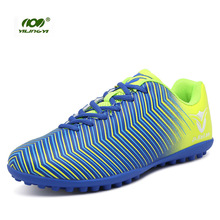 YILINGYI Football Boots Original Soccer Shoes Non-slip Teens Training Cleated Shoe Sport Studded Boots Sneaker ZQX020